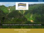The Condor River, Ecuador