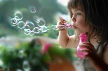 Please, blow us a bubble!