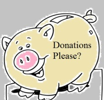 """No, thank you.We have a plan that doesn't allow """"donations"""" given or received."""