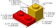 The Lego Standard Brick