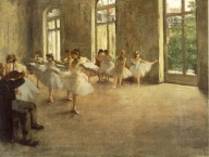 The Rehearsal, Edgar Degas 1878