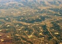West Texas Permian Oil Field
