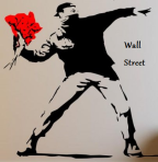 Fooled again! Protest! Courtesy: Banksy
