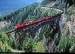 CP coal train on the Stoney Creek Bridge, B.C.