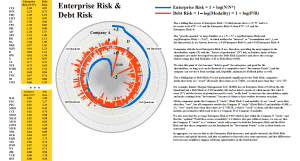 Figure 2.1: S&P 500 Enterprise Risk & Debt Risk
