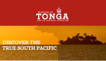 Courtesy: The Kingdom of Tonga