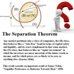 The Separation Theorem