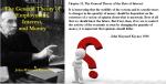Figure 1: Keynes General Theory