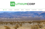 US Lithium Golman Sachs